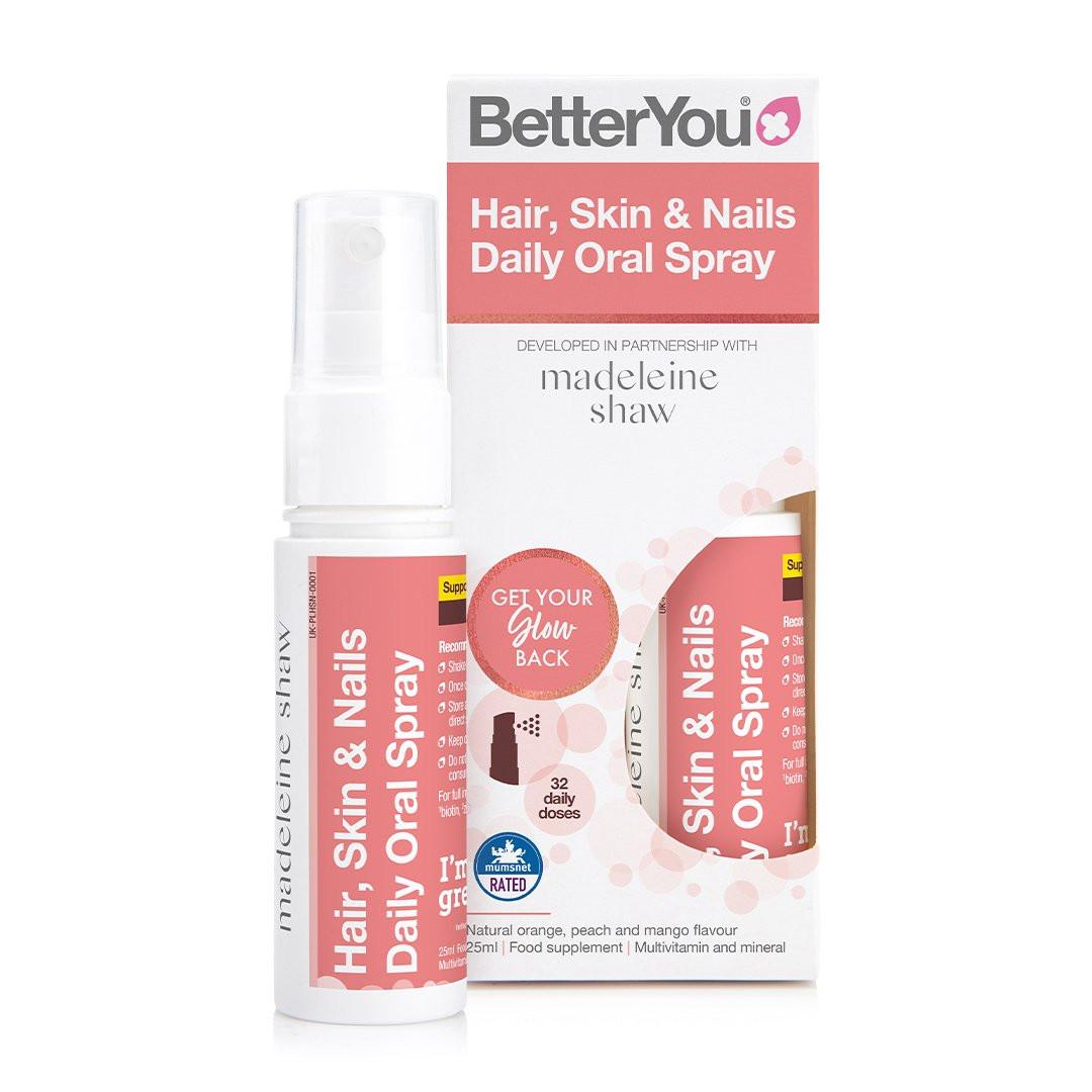 Hair Skin and Nails Oral spray