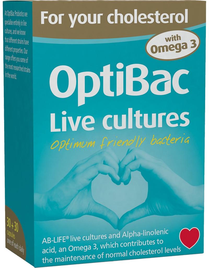 Optibac - για τη χοληστερόλη