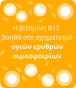 B12 works to form healthy red blood cells
