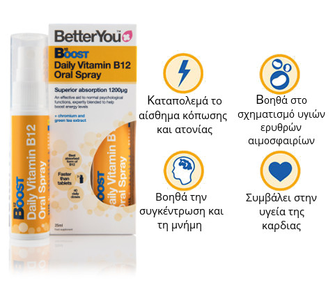 Reasons to choose BetterYou's B12 Oral Spray